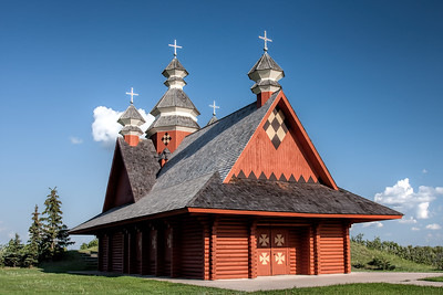 Ukranian Log Church