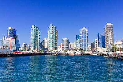 San Diego Bay in the Summer