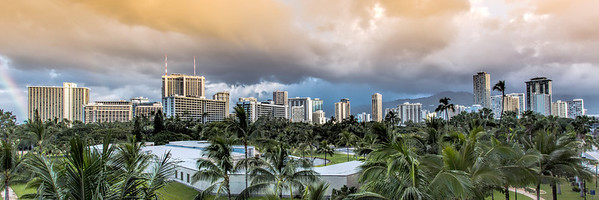Storm Clouds over Honolulu