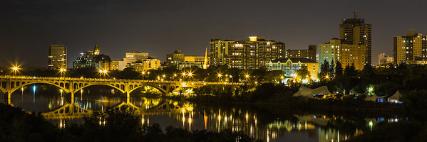Saskatoon City Lights