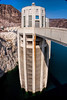 Hoover Dam Intake Tower on the Nevada Side of the Border