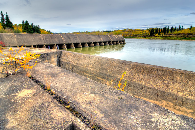LaColle Falls Hydroelectric Dam