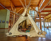 Teepee on Display