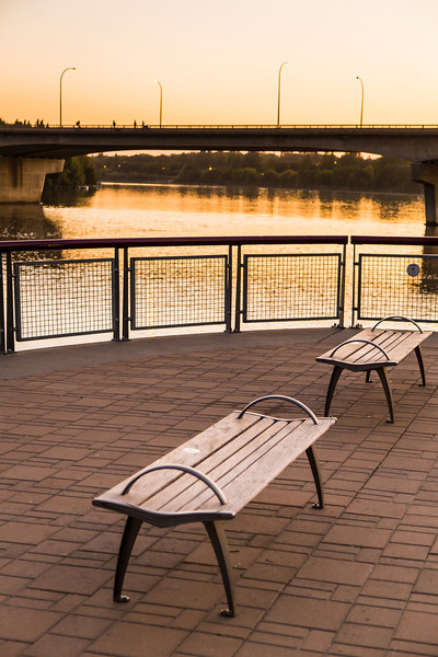 Bench along the River