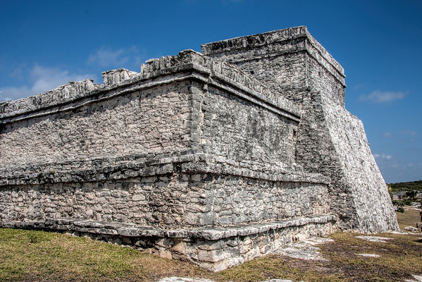 Castillo (The Castle) Temple at Tulum
