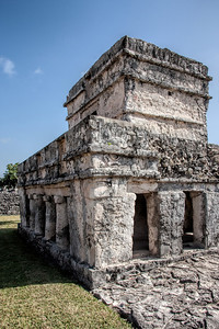 The Temple of Paintings at Tulum