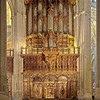 Organ of Santa Maria de la Sede Cathedral, Seville, Spain
