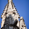 Gothic pinnacles, Santa Maria de la Sede Cathedral, Seville, Spain