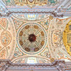 Ceiling of the church of Hospital de los Venerables Sacerdotes, Seville, Spain