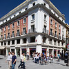 Building on Plaza Nueva, Seville, Spain