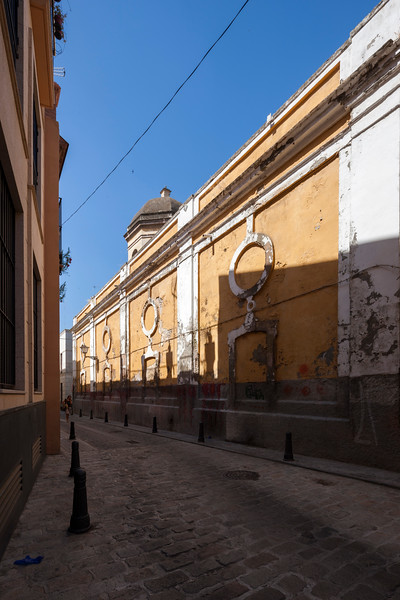 Royal Artillery Factory, abandoned industrial facilities dating back to the 18th century, San Bernardo quarter, Seville, Spain.