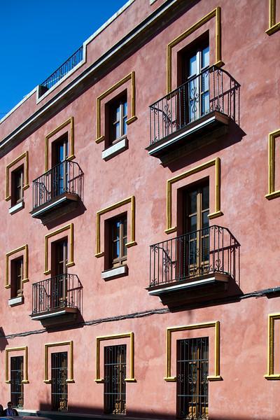 House in Seville city center, Spain