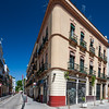 Typical houses, Peris Mencheta street, Alameda de Hercules area, Seville, Spain