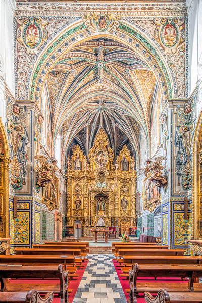 Church of Santa Paula Convent, Seville, Spain.
