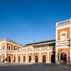 Former San Bernardo railroad station (or Estacion de Cadiz), nowadays Puerta de la Carne marketplace, Seville, Spain