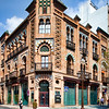 Manuel Nogueira House (1907), building by the famous architect Anibal Gonzalez in Neomudejar style. Seville, Spain