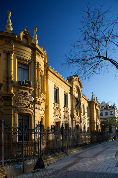 Laboratorio Municipal building (1912, design by the architect Antonio Arevalo Martinez), Seville, Spain
