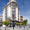 Apartment building on Avenida de la Constitucion, Seville, Spain
