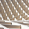 Detail of the grid of Metropol Parasol structure, Seville, Spain
