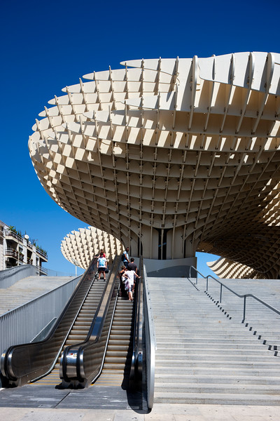 Metropol Parasol building, Seville, Spain