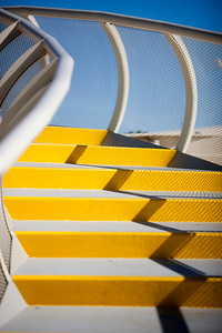 Steps in the walkway on the top of Metropol Parasol, Seville, Spain