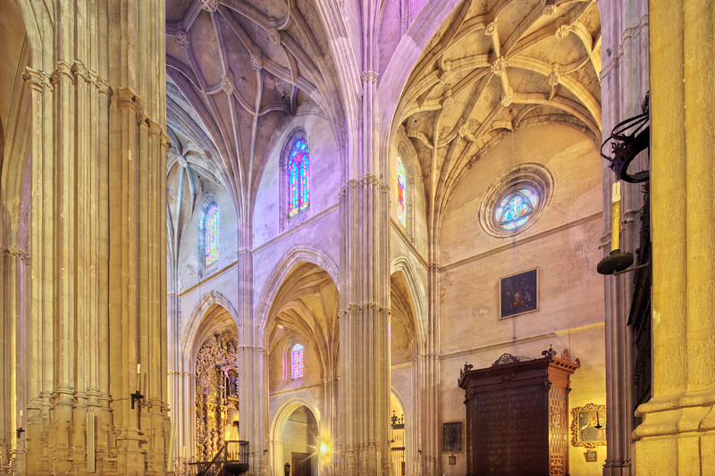 Santa Maria de la Asuncion church (15th century), town of Carmona, province of Seville, Andalusia, Spain