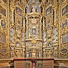 Altarpiece, San Luis de los Franceses church (18th century), Seville, Spain