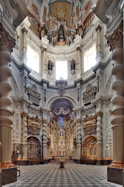San Luis de los Franceses church (18th century), Seville, Spain