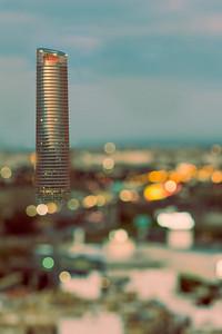 Torre Sevilla skyscraper, design by Cesar Pelli, Seville, Spain
