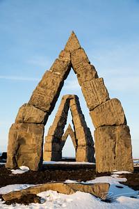 Arctic Henge, Northern Iceland