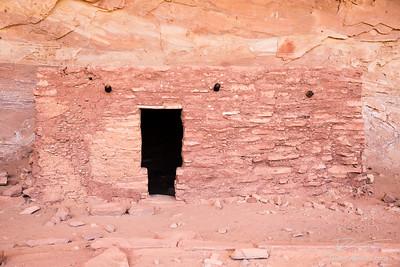 T Door to ancient Pueblo dwelling