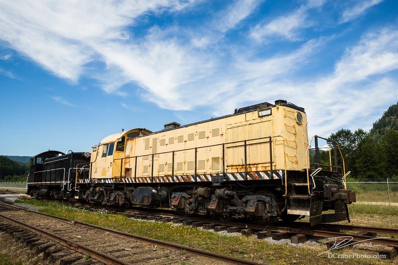 Old Diesel Locomotives