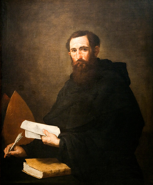 Saint Augustine of Hippo, by Jose de Ribera and his workshop (1636), Goya Museum of Castres (France).