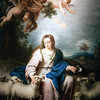 Divina Pastora (Holy Shepherdess, 1724), painting by Alonso Miguel Tovar, Fine Arts Museum, Seville, Spain