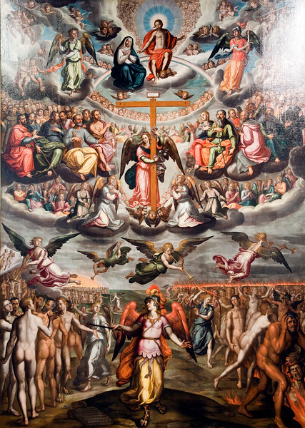 The Final Judgment, painting by Francisco Pacheco (circa 1614), Fine Arts Museum, Seville, Spain