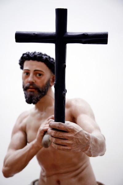 Santo Domingo penitente (Saint Dominicus penitent), sculpture by Juan Martinez Montañes (1605), Fine Arts Museum, Seville, Spain
