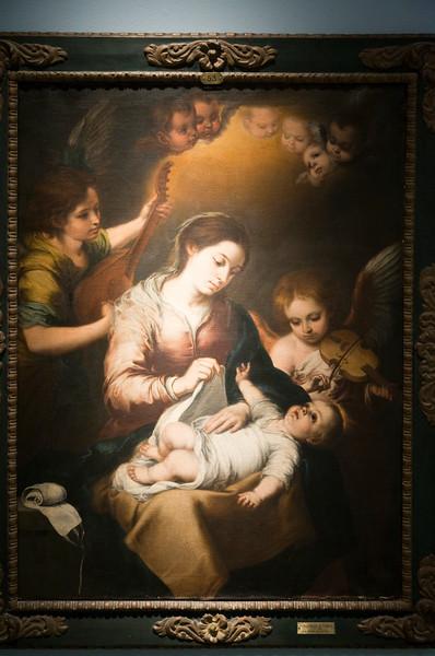 La Virgen de la Faja (the Virgin of the Bandage), painting by Alonso Miguel de Tovar (18th century), Fine Arts Museum, Seville, Spain