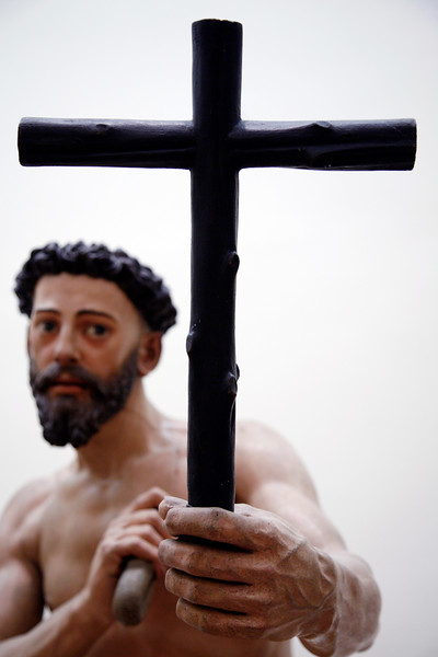 Santo Domingo penitente (Saint Dominicus penitent), sculpture by Juan Martinez Montañes (1605), Fine Arts Museum, Seville, Spain