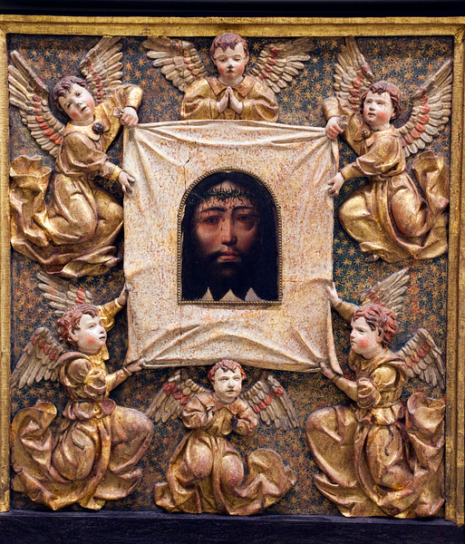 Veil of Veronica, carving by Andres de Ocampo (late 16th century), Fine Arts Museum, Seville, Spain