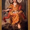Saint Barachiel the Archangel, painting by Alonso Miguel Tovar (18th century), Fine Arts Museum, Seville, Spain