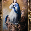 The Immaculate Conception, painting by Alonso Miguel Tovar (18th century), Fine Arts Museum, Seville, Spain
