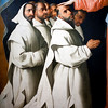 "Detail from the painting ""Virgin of the Misericordia Sheltering the Carthusians"" (circa 1629), by Francisco de Zurbarán, Fine Arts Museum, Seville, Spain"