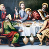 Last Supper, by anonymous Sevillian author (1570), Fine Arts Museum, Seville, Spain