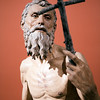 St. Jerome (Hieronymus), sculpture by Pietro Torrigiano (1525),  Fine Arts Museum, Seville, Spain