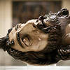 Head of John the Baptist, sculpture by Gaspar Nuñez Delgado (1591), Museum of Fine Arts, Seville, Spain