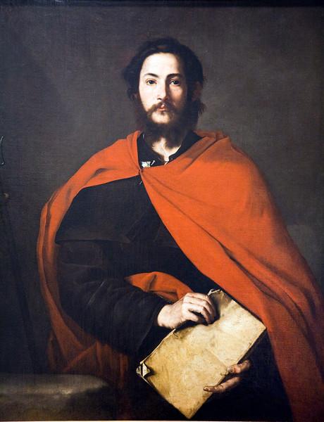 Saint James, by Jose de Ribera El Españoleto (1634), Fine Arts Museum, Seville, Spain