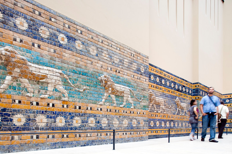 Processional Way of Ishtar Gate, Pergamon Museum, Berlin, Germany