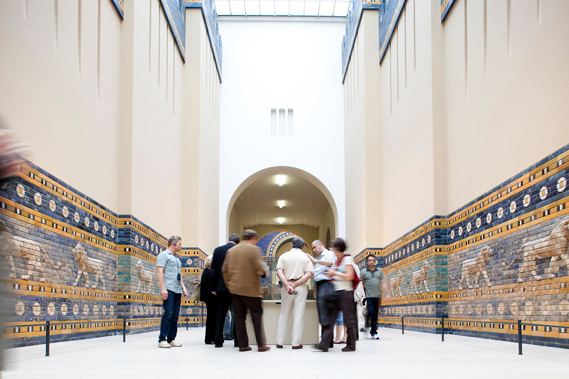 Processional Way of Ishtar Gate, Pergamon Museum, Berlin, Germany