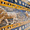 Lions from the Processional Way of Ishtar Gate, Pergamon Museum, Berlin, Germany