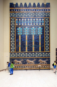 Wall from the Ishtar Gate (Babylon), Pergamon Museum, Berlin, Germany